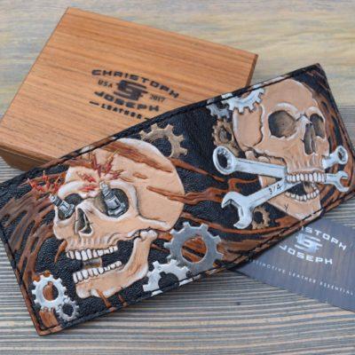 Gearhead Wallet by Christoph Joseph