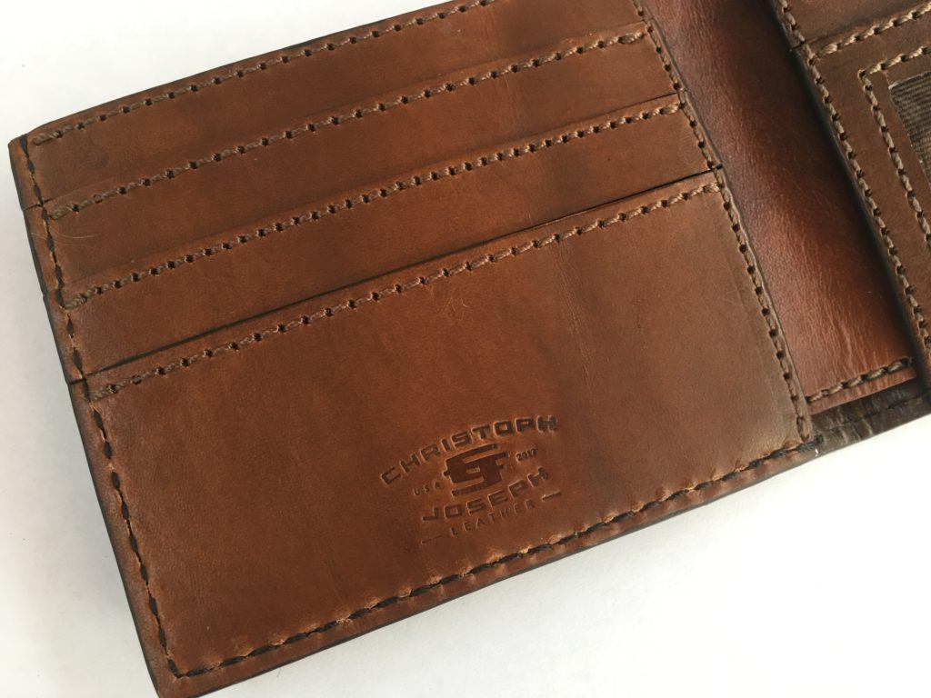 Christoph Joseph Leather Wallet