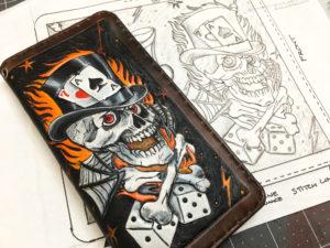 Gambler Wallet Hand Drawn Design by Christoph Joseph